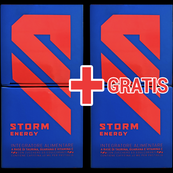 INTEGRATORE ENERGETICO STORM ENERGY OFFICIAL